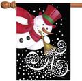 Trumpeting Snowman