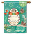 Winter Owl Banner