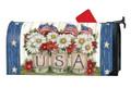 USA Mason Jar Mailwrap