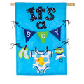 It's a Boy Applique Banner