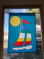 Single Sailboat Banner