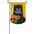Pilgrim Hat Garden Flag