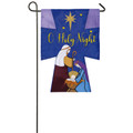 Oh Holy Night Garden Flag