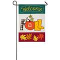 Welcome Fall Harvest Garden Flag
