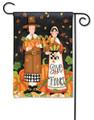 Pilgrim Thanksgiving Garden Flag