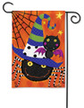 Spiders and Bats Garden Flag