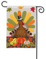 Whimsical Turkey Garden Flag
