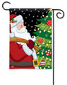 Santa Approved Garden Flag