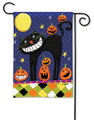 Halloween Smiles Garden Flag