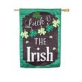 St. Patrick's Day Chalkboard Linen Banner
