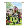 Garden Bicycle Banner