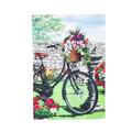 Garden Bicycle Garden Flag