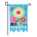 Fiesta Linen Garden Flag