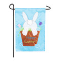 Easter Bunny Pot Garden Flag