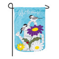 Chickadee Garden Flag