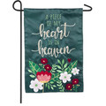 Piece of My Heart Garden Flag
