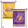 2- Sided Los Angeles Lakers Garden Flag