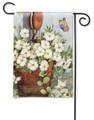 Petunias on Pulley Garden Flag