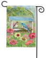 Feeder Friends Garden Flag