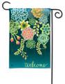 Boho Succulents Garden Flag