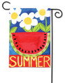 Summertime Watermelon Garden Flag