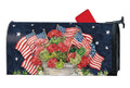 Geraniums With Flags Mailwrap
