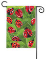 Lucky Ladybugs Garden Flag