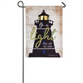 Be A Light Garden Flag