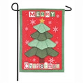 Christmas Tree Quilt Garden Flag
