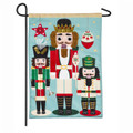 Nutcracker Trio Garden Flag