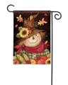 Autumn Scarecrow Garden Flag