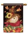 Autumn Scarecrow Standard Flag