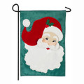 Jolly St Nick Garden Flag