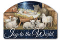 Joy To The World Yard Sign