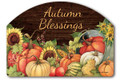 Autumn Blessings Yard Sign