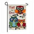 Autumn Owls Garden Flag