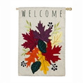 Welcome Leaves Applique