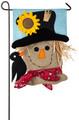 Scarecrow Season Garden Flag