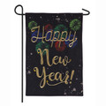 Happy New Year! Garden Flag