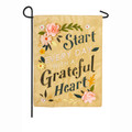 Grateful Heart Garden Flag