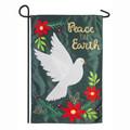 Peace Dove Applique Garden Flag