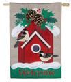 Holiday Chickadee Birdhouse