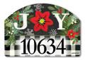 Homespun Christmas Magnetic Yard Sign