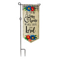As For Me and My House Garden Flag XL