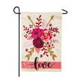 Valentine's Love Spray Garden Flag