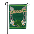 Lucky Horseshoe Garden Flag
