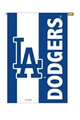 Los Angeles Dodgers Applique Flag