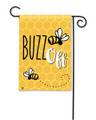 Buzz Off Garden Flag