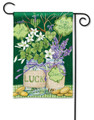 Lucky Shamrocks Garden Flag