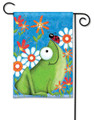 Frog Fun Garden Flag